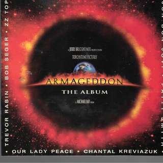 CD ALBUM ORIGINALSOUND TRACK - ARMAGEDDON = THE ALBUM. // BOX w23//
