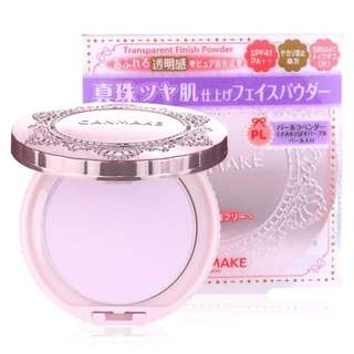 🌸Canmake Transparent Finish Powder in Pearl Lavender PL SPF41 PA+++