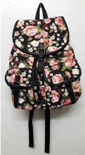 Floral bag pack