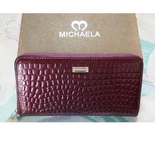 Michaela Long Zipper Wallet