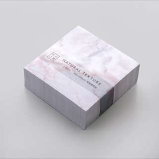 400 pcs Marble post it (BIG)