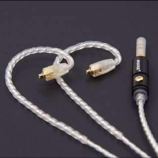 [$86]  4 Core Silver Plated Copper (SPC) MMCX Westone/ Shure IEM Upgrade Cable