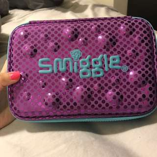 Smiggle double layer pencil case