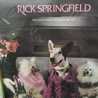 Rick Springfield vinyl record