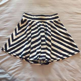 Colorbox stripes skirt