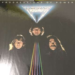 Progressive of power vinyl record