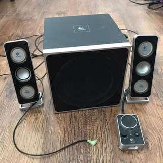 羅技2.1聲道重低音喇叭
