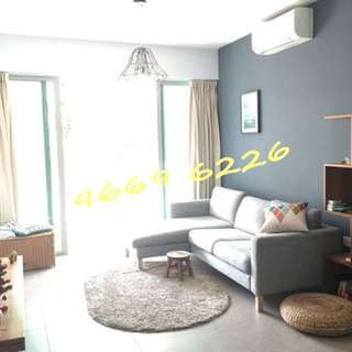 2BR for rental - The Minton