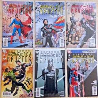 SUPERMAN - WORLD of NEW KRYPTON #1-12 (2009) Complete set