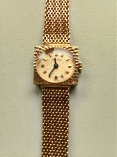 Enicar Vintage Swiss Gold Watch like Bulgari, Tissot, Longines, Oris, Rado, Tudor, Rolex