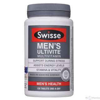 Swisse Multivitamin, Men
