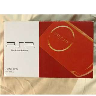 PlayStation Portable (Piano Red)