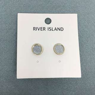 River island Sample Earrings 金銀色圓形耳環