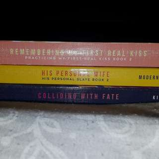Wattpad book 'colliding with a fate, remembering my first real kiss, his personal wife' unsealed