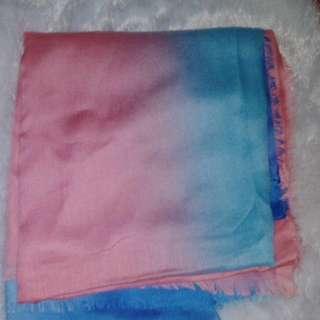 Voal scarf pelangi