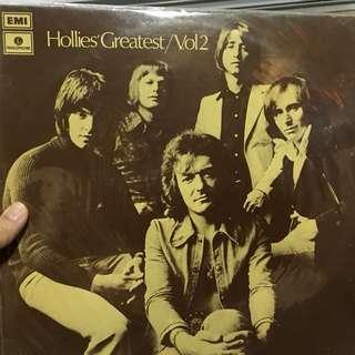 Hollies greatest vinyl record