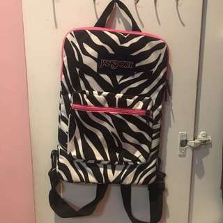 Jansport Laptop Bag (13 inch) Zebra Print