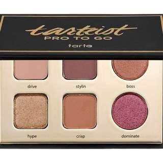 Tarte Pro To Go Eyeshadow Palette
