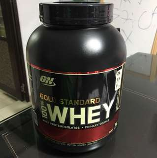 ON GOLD STANDARD WHEY PROTEIN ISOLATE 5LB 2.27KG (Double Chocolate)