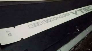 Dohc vtec sticker decals ORIGINAL