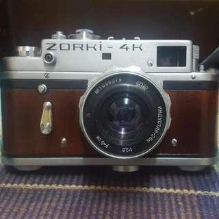 Zorki 4k With Industar Lens