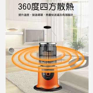 [LAPOLO] 四方散熱型植絨款電暖爐