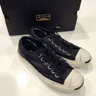 Converse Jack Purcell Leather OX 皮革 開口笑