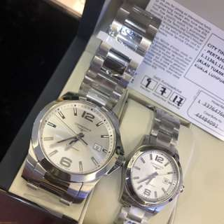 Longines couple new never used