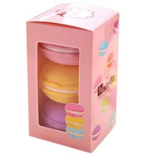 Macaroon larger shell container ideal for putting slime