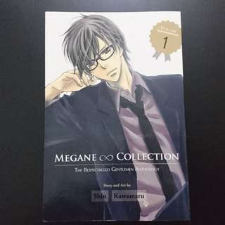 Megane collection, the bespectacled gentlemen anthology by Shin Kawamura