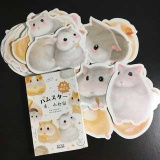 Hamster postcard (30 pieces)