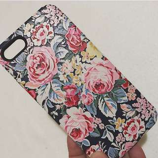 Iphone7 case- floral print