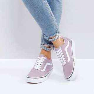 Old Skool Vans Lilac