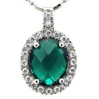 Luxury Pendant 925 Sterling Silver with Necklace