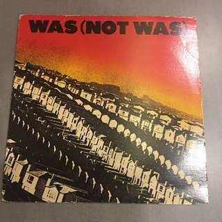 Was (Not Was)  early funk lp by head honcho if Blue Note Records Don Was