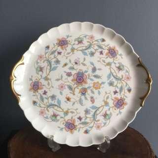 Narumi Cake Plate with Handles
