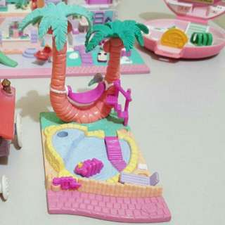 Vintage polly pocket Palm tree