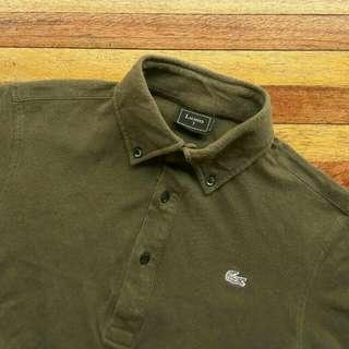 LACOSTE Button Down Polo Shirt