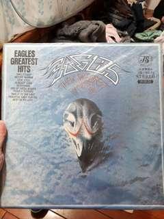 黑膠唱片eagles