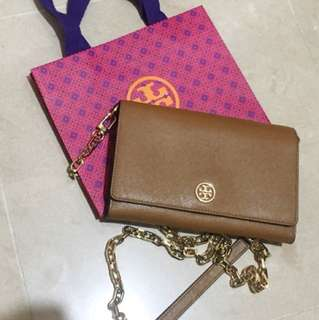 Tory Burch chain bag wallet