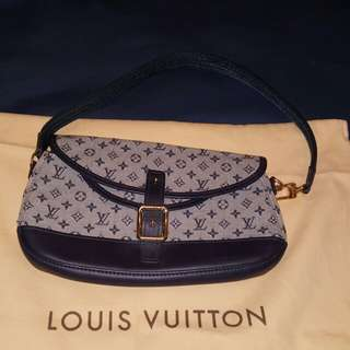 Louis Vuitton - Denim Monogram Handbag (Blue)