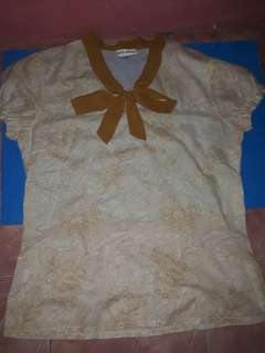 BNWT Blouse with Bow Tie