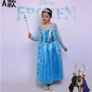 Disney Frozen Elsa Princess Dress