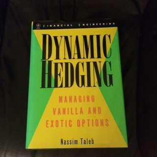 Dynamic Hedging by Nassim Taleb