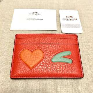Coach Card Holder New Authentic BNWT