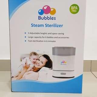Bubbles Steam Sterilizer & Bottle and Food warmer