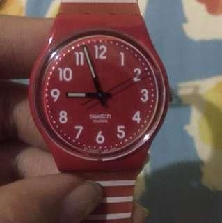 Swatch red strap original