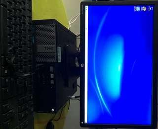 Dell 9020 SFF desktop for sale (23 inch desktop and 21 inch desktop)