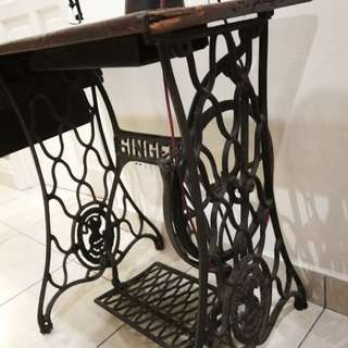 Antique Sewing Machine, price reduced