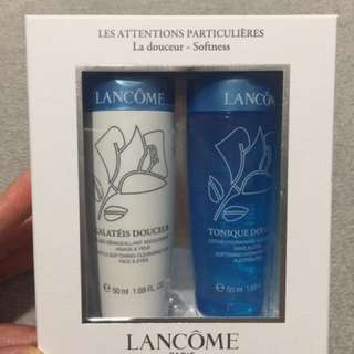 Lacome cleanser and toner